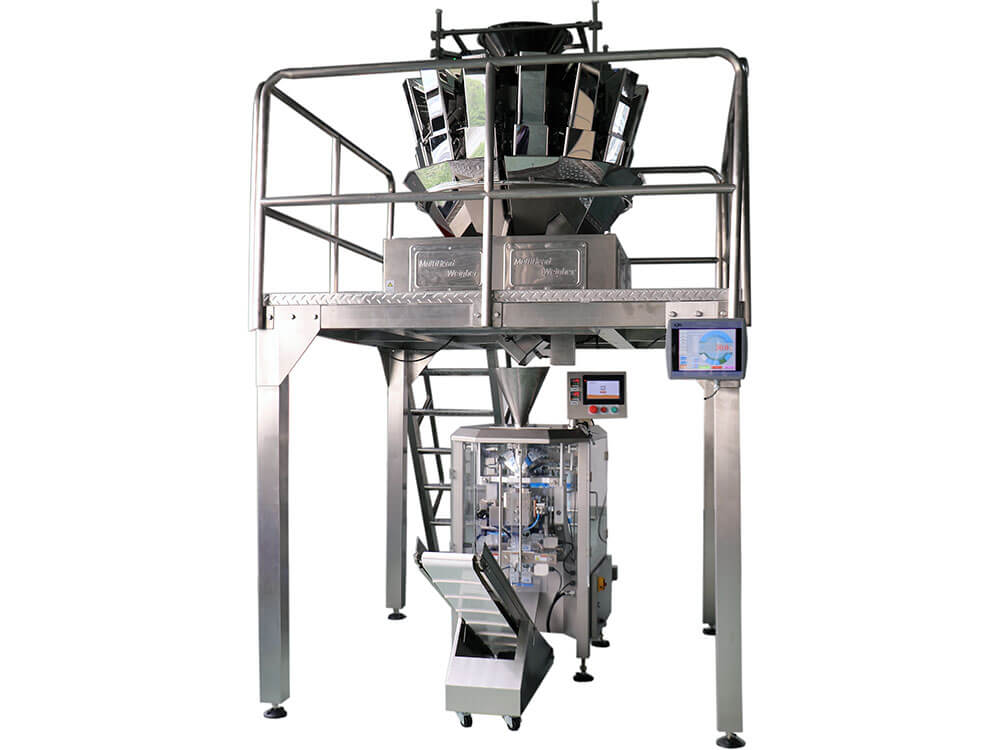 VFFS Packing Machine with Multihead Weigher