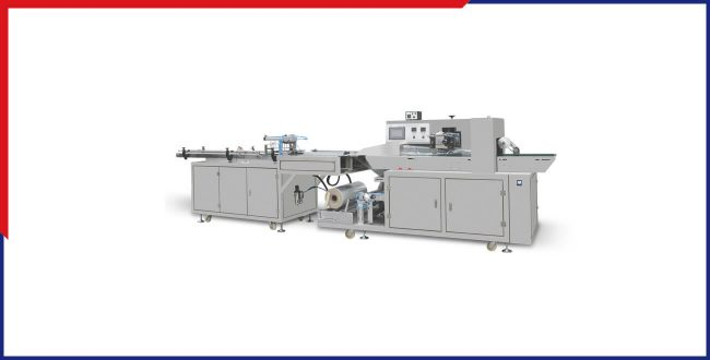 Automatic Plastic Cup Flow Wrap Packing Machine