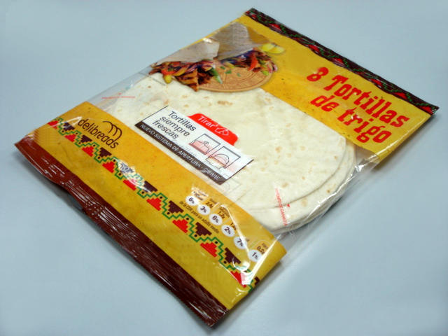 Tortilla Flow Wrap Packing Machine